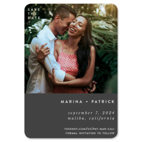 Better Half 1 Save The Date Magnets