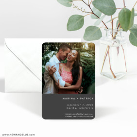Better Half 3 Save The Date Magnet With Envelope