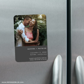 Better Half 4 Refrigerator Save The Date Magnets