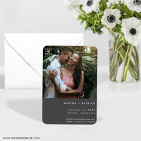 Better Half 6 Wedding Save The Date Magnets With Envelope