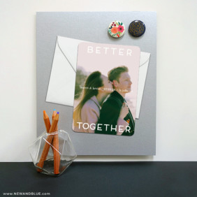 Better Together 8 Magnetic Save The Date