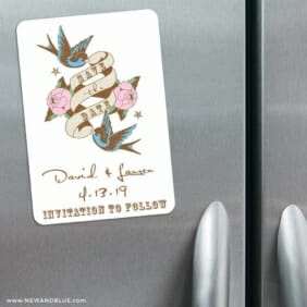 Bettie 3 Refrigerator Save The Date Magnets