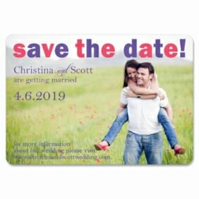 Big Sky 1 Save The Date Magnets