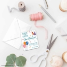 Birthday Bash 4 Petite Size Magnet