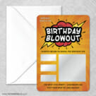 Birthday Blowout Classic Scratch Off Magnet