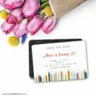 Birthday Candles 7 Wedding Save The Date Magnets