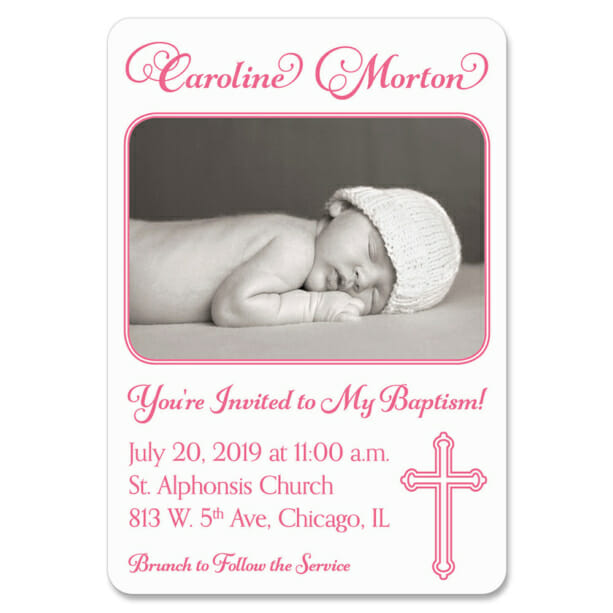 Blessed Baptism 1 Save The Date Magnets1