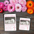 Blessed Baptism 2 Save The Date Magnet Classic And Petite Size1