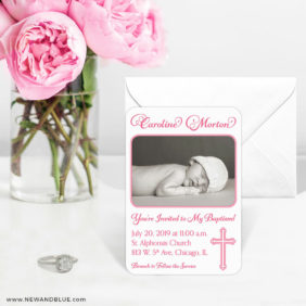 Blessed Baptism 6 Wedding Save The Date Magnets1