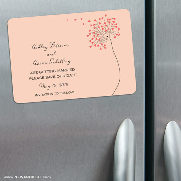Blown Away 3 Refrigerator Save The Date Magnets3