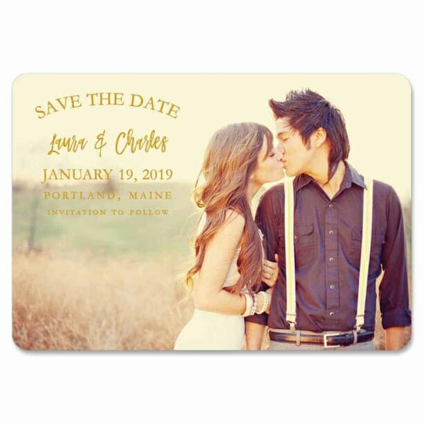 Breaking News 1 Save The Date Magnets