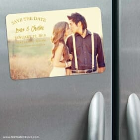 Breaking News 3 Refrigerator Save The Date Magnets