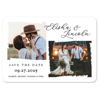 Brushstroke 1 Save The Date Magnets