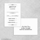 Calliope Rsvp Card And Envelope