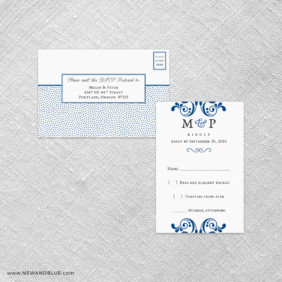 Celebrate All In One Detachable Portrait Response Card