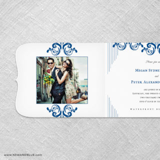 Celebrate All In One Invitation With Optional Photo