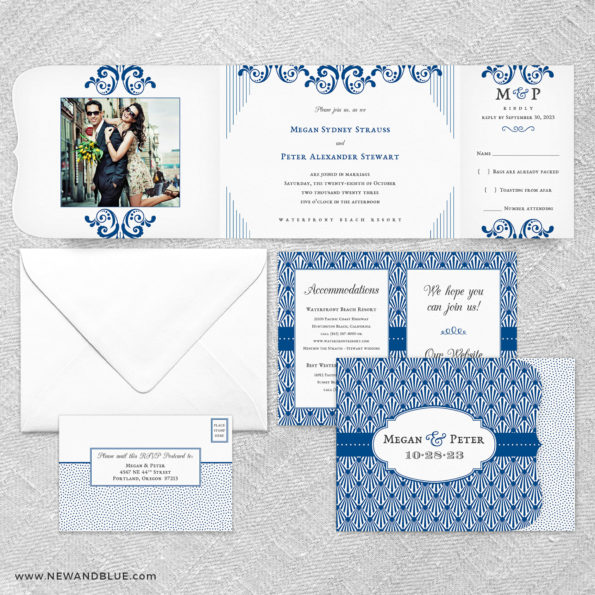 Celebrate All In One Wedding Invitation Suite