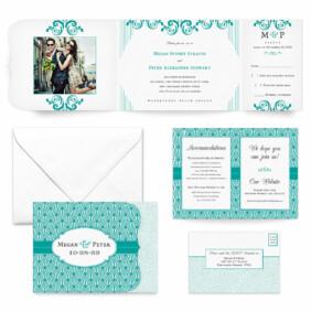 Celebrate All Inclusive Wedding Invitation