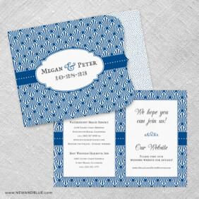 Celebrate Allinone Wedding Invitation Set