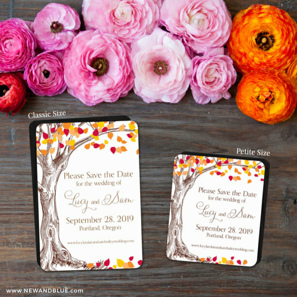 Celebration Of Love 2 Save The Date Magnet Classic And Petite Size1