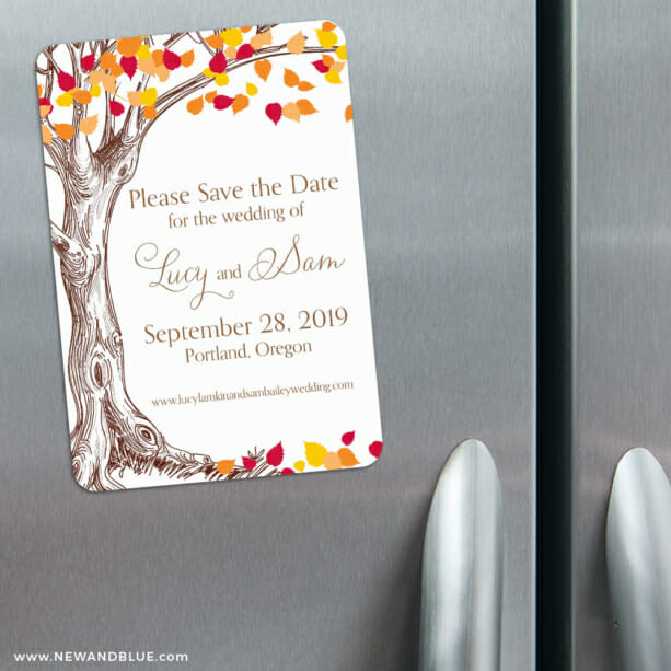 Celebration Of Love 3 Refrigerator Save The Date Magnets1