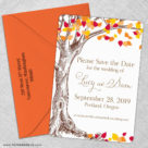 Celebration Of Love 5 Save The Date With Optional Color Envelope1