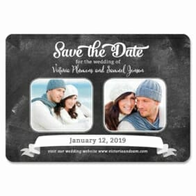 Chalk It Up To Love 1 Save The Date Magnets