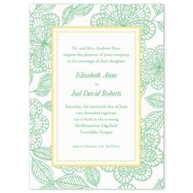 Charlotte Wedding Invitation