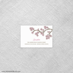 Cherry Tree 7 Reception Card