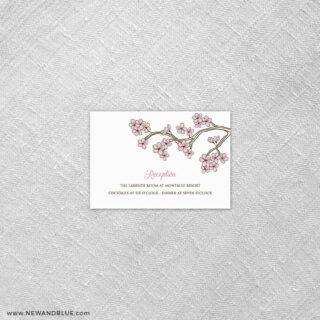 Cherry Tree 7 Reception Card