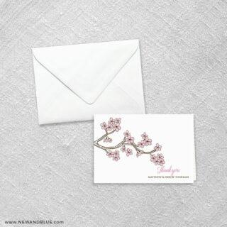 Cherry Tree 8 Thank You Card