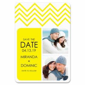 Chevron 1 Save The Date Magnets1