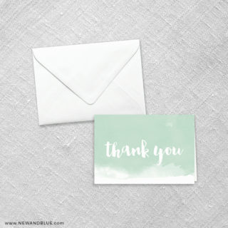 Chroma 8 Thank You Card