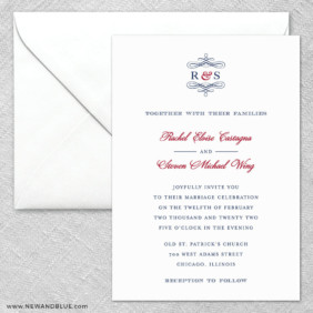 Coconut Grove 2 Invitation And Envelope