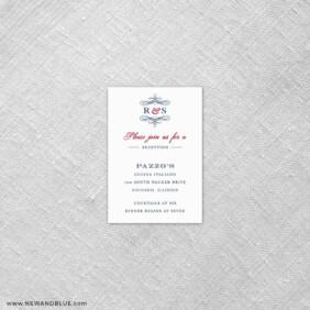 Coconut Grove 7 Reception Card