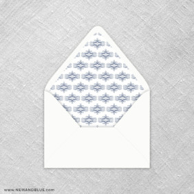 Coconut Grove 9 Envelope Liner