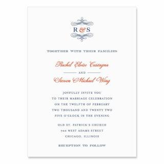 Coconut Grove Wedding Invitation
