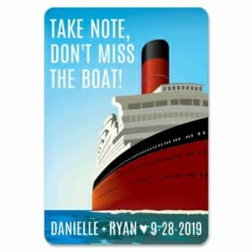 Cruisin 1 Save The Date Magnets