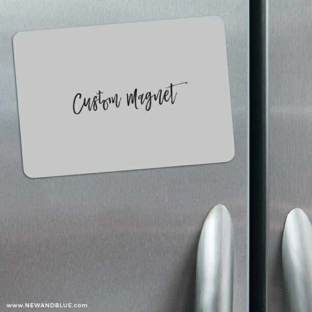 Custom Refrigerator Save The Date Magnets Classic Size