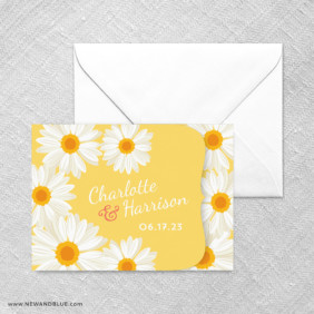 Daisy All In One Invitation Set