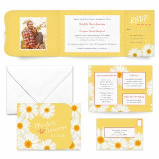 Daisy All Inclusive Wedding Invitation