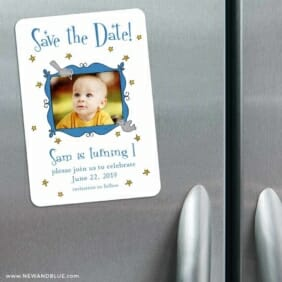 Delightful 3 Refrigerator Save The Date Magnets
