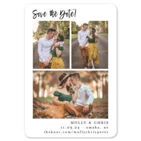 Delightful Gallery 1 Save The Date Magnets