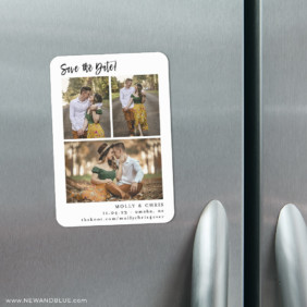 Delightful Gallery 4 Refrigerator Save The Date Magnets