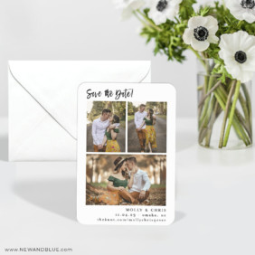 Delightful Gallery 6 Wedding Save The Date Magnets With Envelope