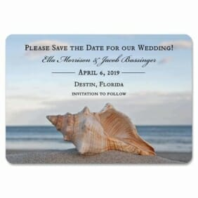 Down By The Sea 1 Save The Date Magnets