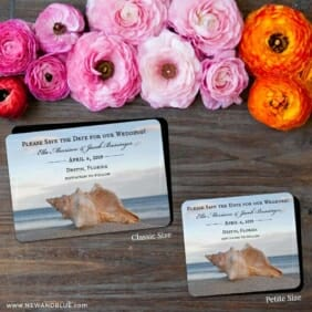 Down By The Sea 2 Save The Date Magnet Classic And Petite Size