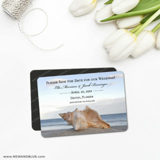 Down By The Sea 5 Save The Date Magnet