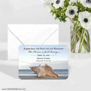 Down By The Sea 6 Wedding Save The Date Magnets