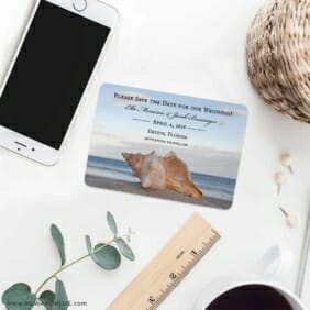 Down By The Sea 7 Wedding Save The Date Magnets